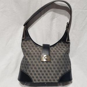 Dooney and Burke Sling Logo Handbag